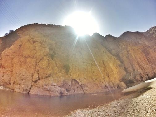 Wadi Shab, Canyon, Oman