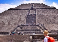 Mexico City, Teotichuacan, Pyramide of the Sun