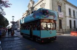 Bus, Oaxaca, Mexico