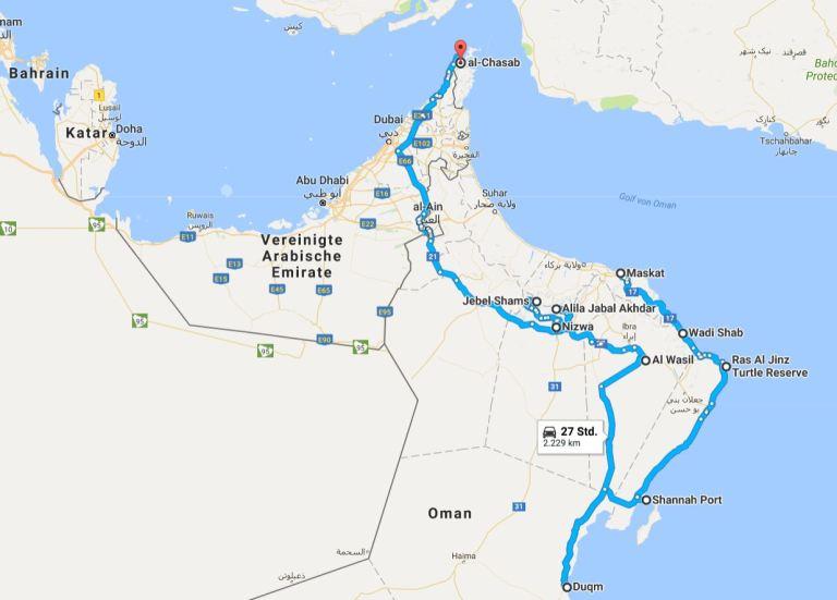 Travelmap_Oman
