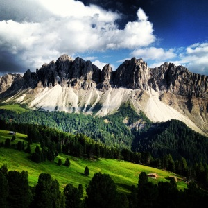 Scahtzerhütte, Dolomiten, Südtirol, Italien