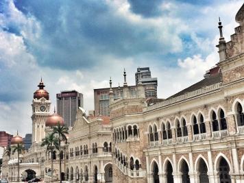 Railway station, Kuala Lumpur, Malaysia