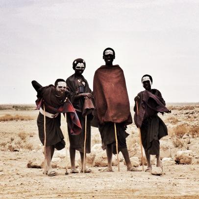Maasai, Serengeti, Tanzania