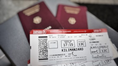 Boarding pass to Kilimanjaro, Tanzania