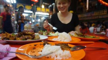 Jalan Alor, best street food, Kuala Lumpur