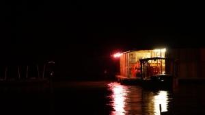 Floating Restaurants Taman Negara, Malaysia